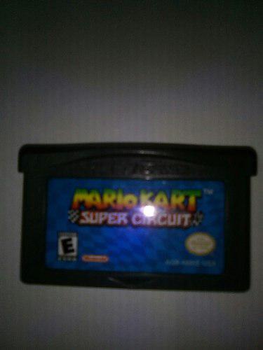 Juego Para Gameboy Advance Mariokart