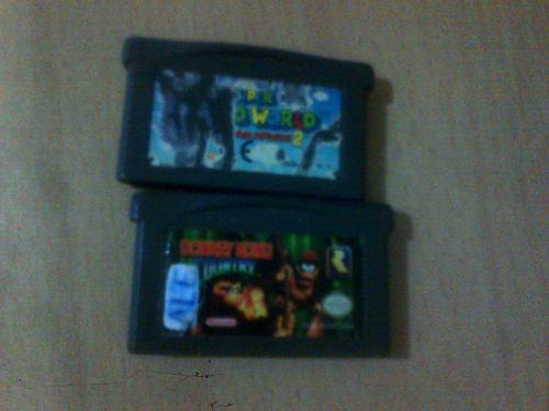 Juegos De Game Boy Super Mario World 2 Y Donkey Kong Oferta
