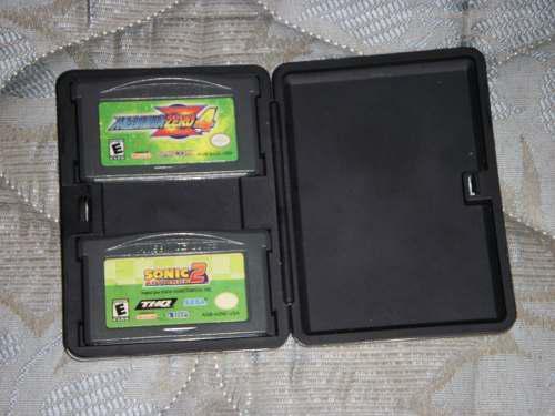 Juegos De Gameboy Usados (megaman Z 4 Y Sonic Advance 2)