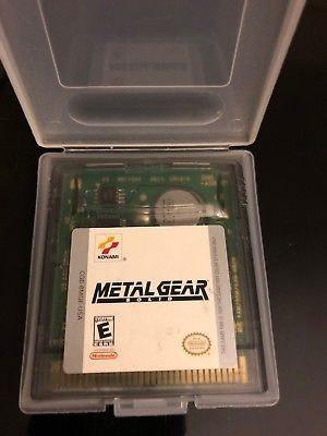 Metal Gear Solid Para Game Boy Color, Completo!
