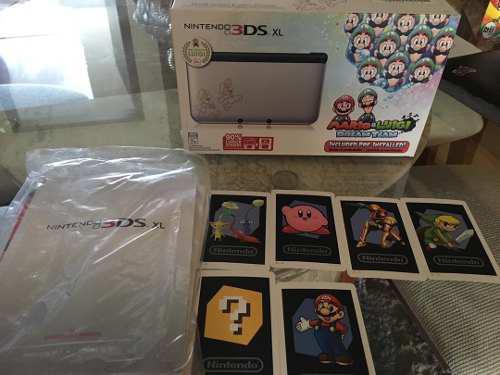 Nintendo 3ds Xl R4 Edición Especial Mario Bros (poco Uso)