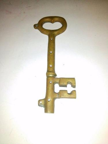 Porta Llaves De Bronce