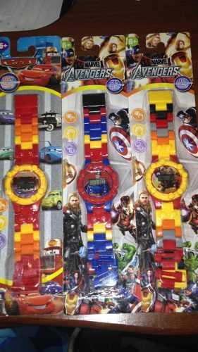 Reloj De Lego Para Niña Y Niño Venta Al Mayor Y Detal