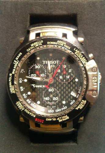 Reloj Tissot T Race Moto Gp Edicion Especial 2008