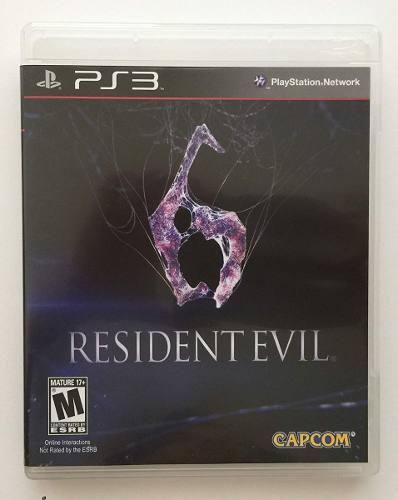 Resident Evil 6 Ps3 Nuevo Sellado Oferta