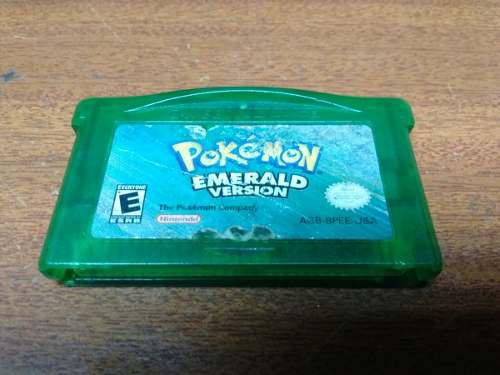 Videojuego Pokemon Emerald Game Boy Advance