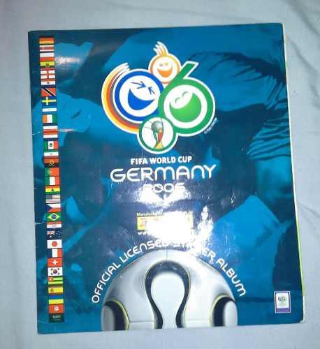 Album Completo Mundial Alemania  Panini