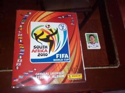 Album Del Mundial Sudafrica .....completo Lleno...