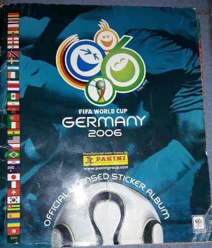 Album Mundial Alemania  Completo