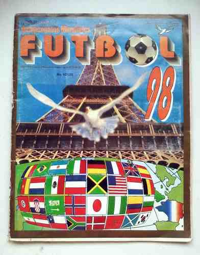 Album Mundial De Futbol Francia 98 Reyauca