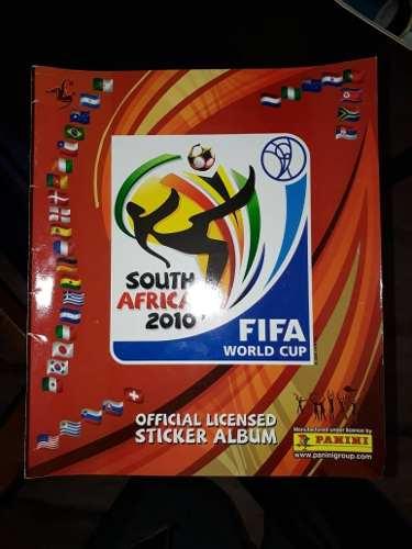 Album Mundial De Futbol South Africa  Totalmente Lleno