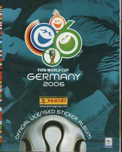 Album Panini Mundial De Futbol Alemania