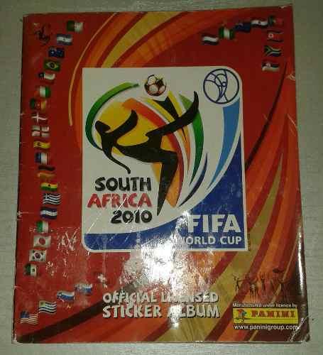 Album Panini Mundial De Futbol Surafrica