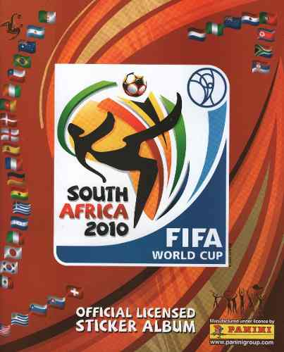 Barajitas Album Panini Mundial De Futbol Sur Africa
