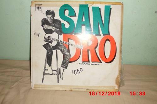 Disco De Coleccion Sandro En Vivo En Caracas