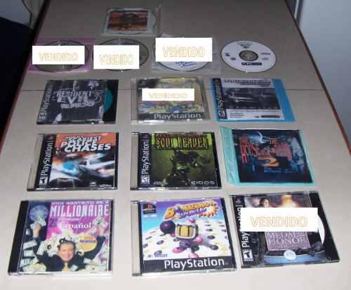 Juegos Playstation Y Pc. (9 Juegos Por El Precio Publicado)