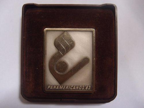 Medalla De Los Juegos Panamericanos Caracas 83