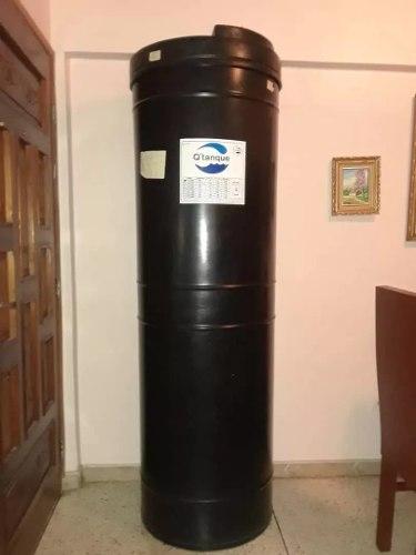 Tanque Agua Cilindro 550 + Bomba Periferica + Base Soporte