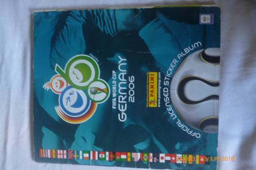 Álbum Mundial De Fútbol Alemania