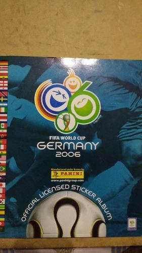 Álbum Panini Mundial De Fútbol Alemania  Lleno
