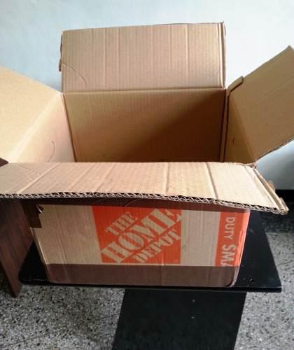 5 Cajas De Carton Usadas Para Embalaje O Mudanzas