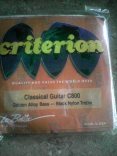 Cuerdas De Guitarra Clasica