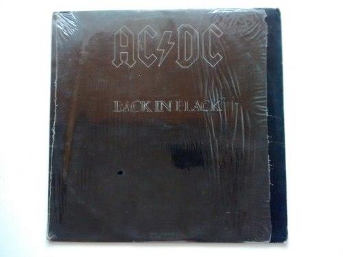 Discos Lp Vinil Acdc Black In Black Y Otros Excelente Estado