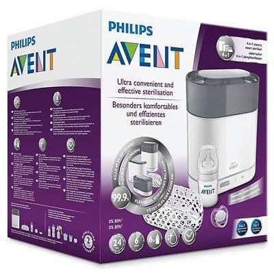 Esterilizador Philips Avent 4 En 1 Teteros Chupones Mamila