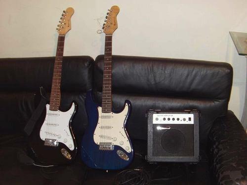Guitarras Freedmaster + Amplificador Freedmaster! Remate!