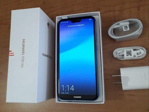 Huawei P20 Lite 32gb Ram4gb Blue Metalizado