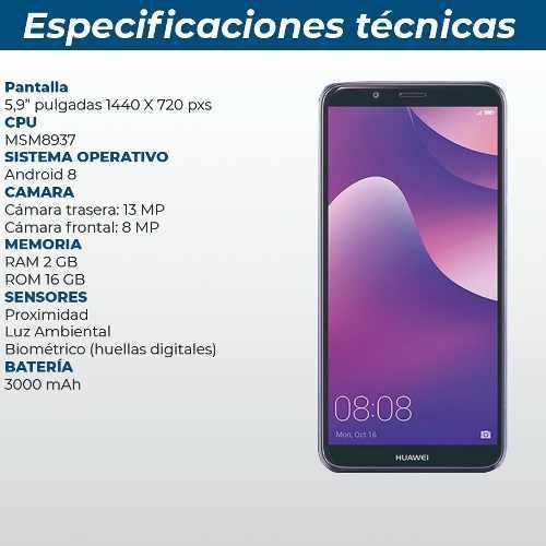 Huawei Y7 2018 16 Gb Int / 2gb Ram 4g Tienda Fisica