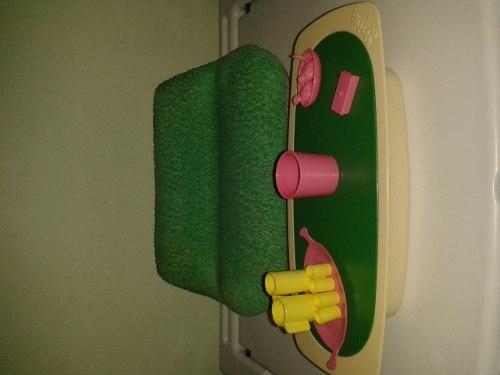 Juego De Mueble Y Mesa Barbie