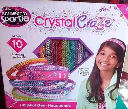 Juguete Set De Belleza Mania De Cristal Para Niñas.