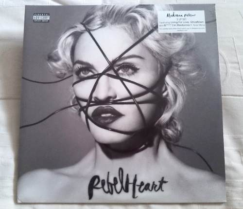 Madonna Rebel Heart Vinyl Lp Vinilo Sellado