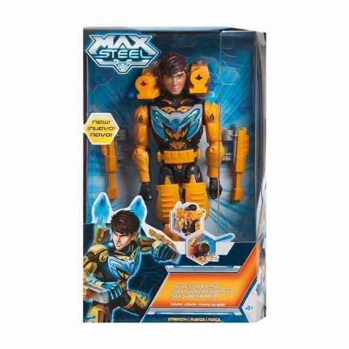 Muñeco Max Steel Fuerza Explosiva Niños Nuevo Original