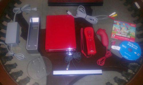 Nintendo Wii Rojo Edicion Especial