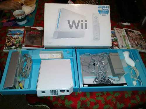 Nintendo Wii Tm Original Con Accesorios