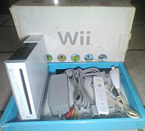 Nintendo Wii Usado (lector De Copias)