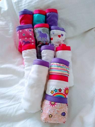 Pantaletas Para Niñas Hanes Nuevas Talla 8