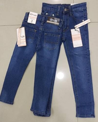 Pantalones Jean De Niño Virus