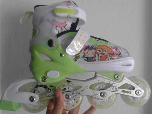 Patines Ajustables Con Luces Led