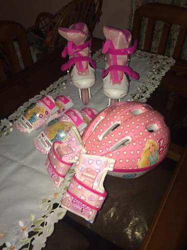Patines Barbie Para Niña