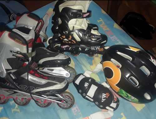 Patines En Linea Rollerblade Y Hotwheels