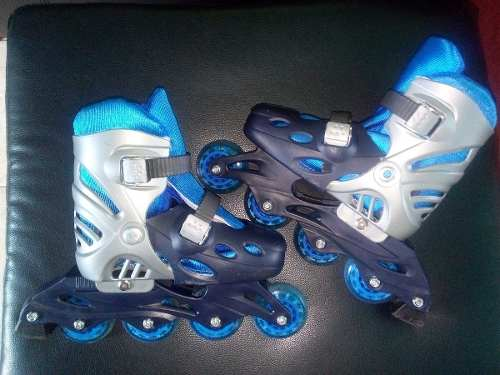 Patines Lineales + Kit De Protección