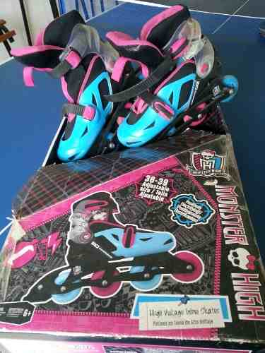 Patines Monster High Talla  Ajustable