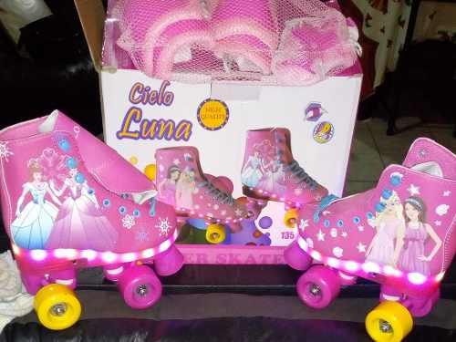 Patines Princesa Luces Led