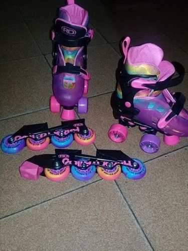 Patines Roller Derby Niñas Para Niña