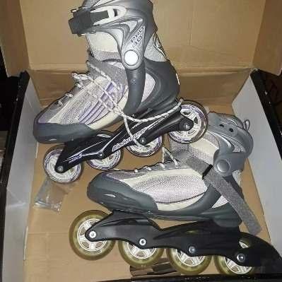 Patines Rollerblade Bladerunner Pro 80 Talla 40 (us 8) Usado