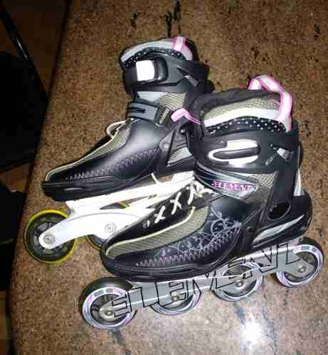 Patines Rollerblades 5th Element Lynx Lx Para Mujer Talla 8
