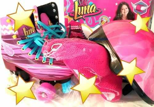 Patines Soy Luna Originales Kit De